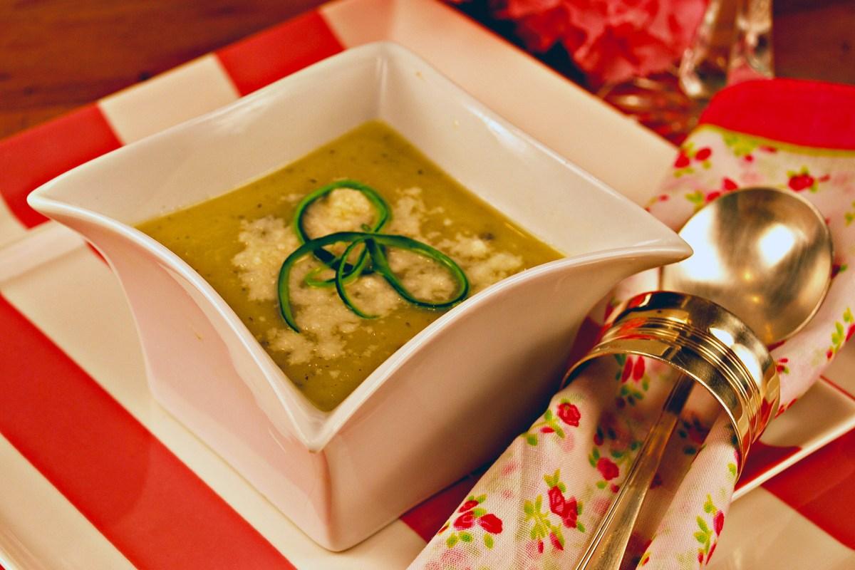 Zucchini Thyme Soup