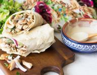 Grilled Chicken Shawarma Wrap