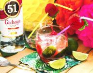 Watermelon Caipirinha Cocktail Recipe