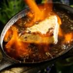 Pan-Seared Greek Cheese