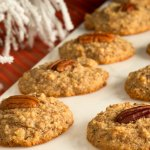 Almond Flour Cookies with Pecans and Walnuts