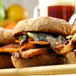 Applewood Smokehouse Sandwich--yum!