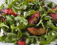 Arugula and Peach Salad