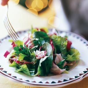 Arugula Radicchio And Escarole Salad