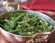 Baby Broccoli with Garlic
