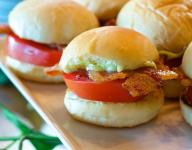 Bacon Tomato Sliders