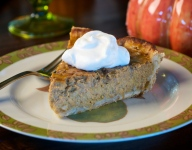 How to Make a Black Walnut Pumpkin Pie