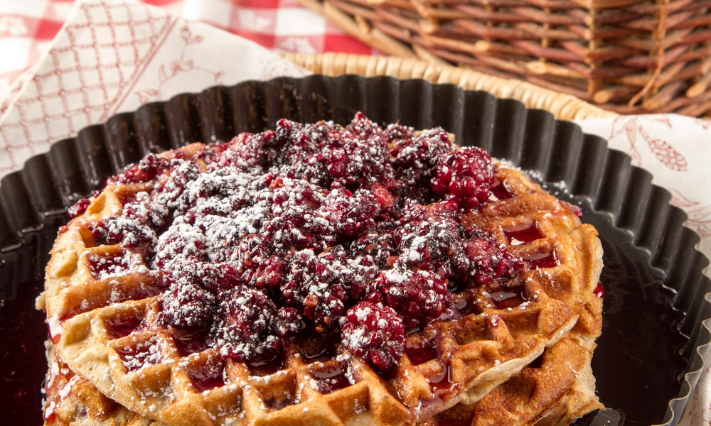 In honor of National Waffle Day, we tip our hat to the most innovative use of a waffle iron from athletic shoe innovator Bill Bowerman. According to the National Inventors Hall of Fame, Bowerman was inducted into that organization in 2014 for his patent of the modern athletic shoe.