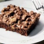 Black Walnut Brownie Bars