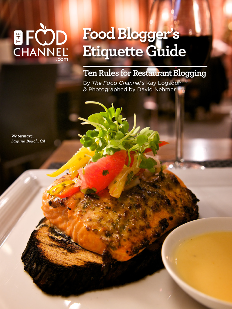 Food Blogger's Etiquette Guide