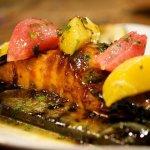 Blue Water Grill Cedar Planked Salmon