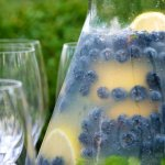The Food Channel's Blueberry Lemonade