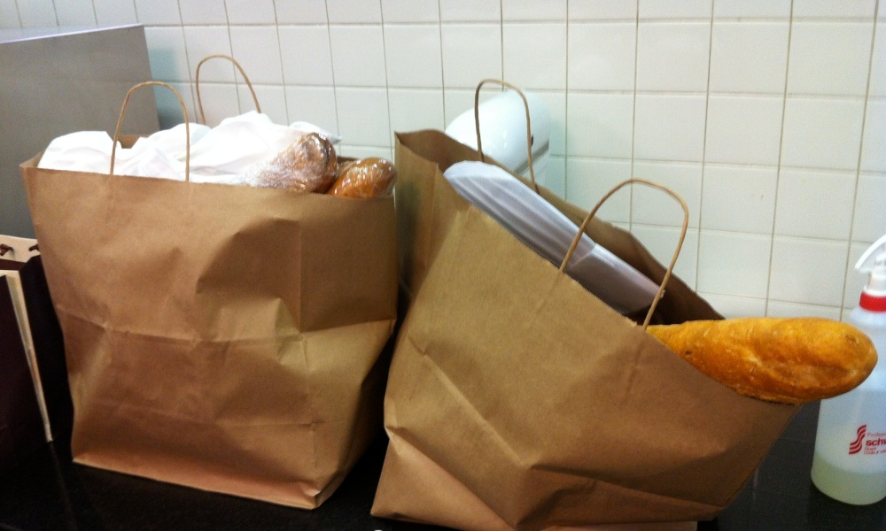 We took home bags full of pastries!
