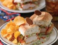 Buffalo Chicken Breast Sandwiches