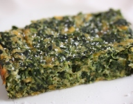 Cheesy Spinach Casserole Recipe