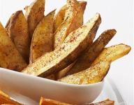 Chili-Roasted Potato Wedges