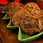 Chocolate Pistachio Drop Cookies