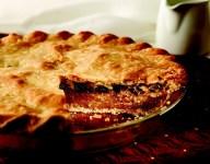 Chocolate Walnut Mock Apple Pie