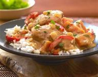 Coconut-Almond Chicken Stew with Cilantro