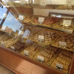 One of several cookie cases at Missouri Baking Co.