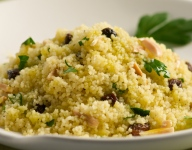Couscous with Almonds and Raisins