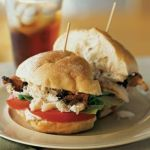 Crab, Peppered Bacon and Tomato Sandwich--So delicious!