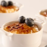 Spoon Dessert: Tapioca with a Brulee Top