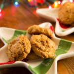 Crystallized Ginger Drop Cookies