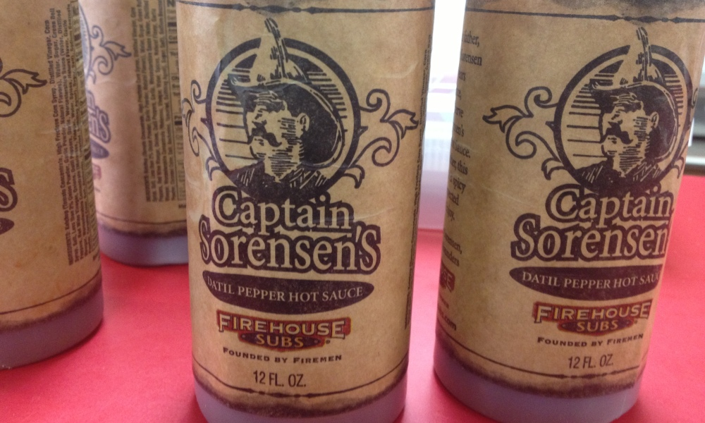 Captain Sorensen's Hot Sauce