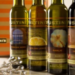 Fustini's Olive Oils and Vinegars fit well on any table