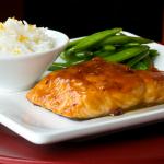 Ginger Teriyaki Salmon
