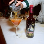The Autumn Martini was one of the special drinks served