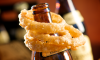 Dark Extra Stout Beer Battered Onion Rings