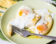 Lebanese Halloumi and Eggs Recipe