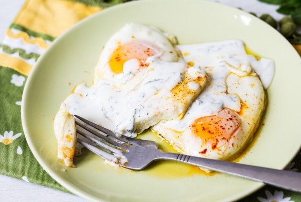 Lebanese Halloumi and Eggs