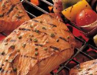 Honey Ginger Grilled Salmon Recipe