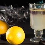 Hot Buttered Blackberry Lemonade