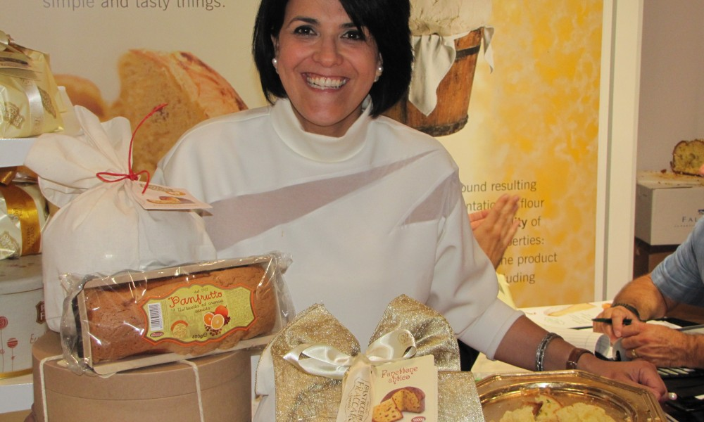 Fabiana is a classic exhibitor who is passionate about food...and so are we!