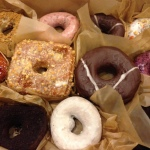 Box of donuts from Doughnut Planet