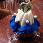 60th Anniversary Cupcake