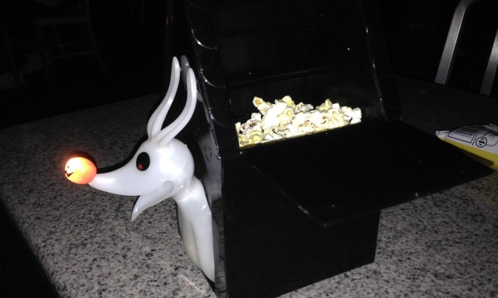 Zero Popcorn Bucket--a must!