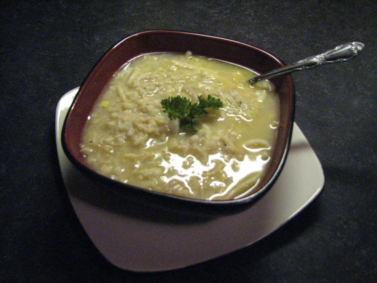 Adrienne Garvey Chicken Corn Soup