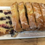 We started our guests off with Lemon Blueberry Cake...