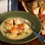 Irish Ale Potato and Cheese Soup