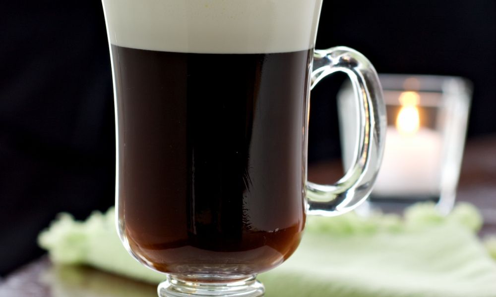 Irish Coffee by The Food Channel//Photo by Lance Mellenbruch