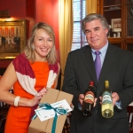 Kim Lapine of Smith & Wollensky and Keith Schaufler, with Vintage Wines