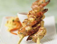 Lemongrass Shrimp Skewers