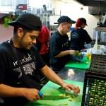 Mercadito kitchen prep