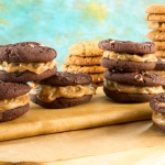 Otis Spunkmeyer cookies and dessert butter--two cookies in one!