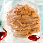 Broken Heart Peanut Butter Cookies